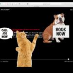 A brilliant website for a copywriter