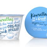 Kourellas Dairy packaging