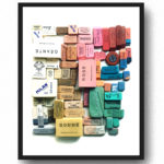 Erasers print by Lisa Congdon